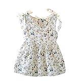 Babybekleidung Baby-Mädchen Prinzessin Kleid Festzug Taufkleid Hochzeit Partykleid Mädchen Tüll Kleidung Blumenmädchenkleid mit Baumwollhose