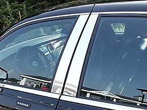QAA fits 1998-2011 Lincoln Town Car (4 Piece Stainless Pillar Post Trim) PP38680