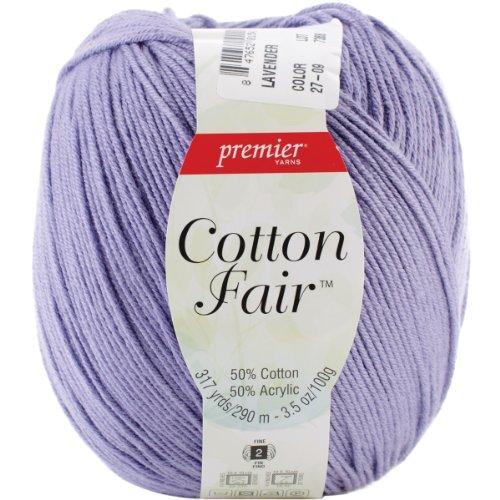 Premier Yarns Cotton Fair Solid Yarn-Lavender