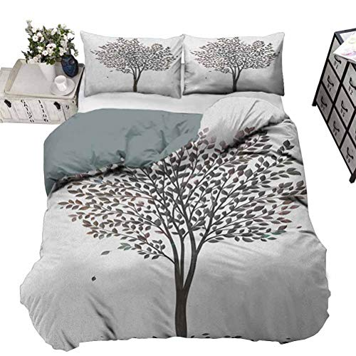 beautiful tree print bedding sets