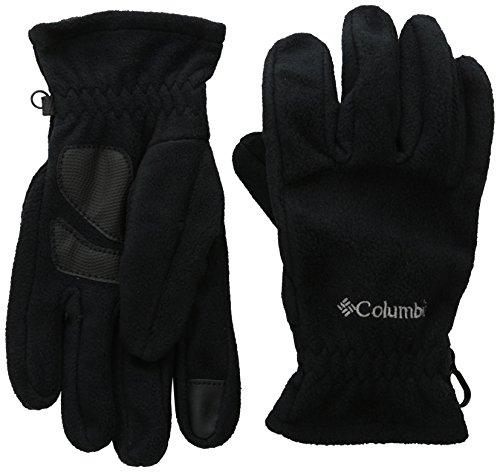 Columbia W Thermarator Glove Guantes, Mujer, Negro, Tall L