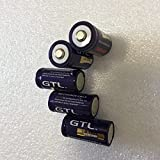 Pilas Recargables Batería De Litio Gtl16340 1800Mah3.7V 3.7V 16Pcs