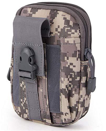 Poches tactiques ventilateur militaire poches de sport en plein air poches de téléphone portable poches étanches hommes pour les sports de plein air (camouflage de l'Air Force)