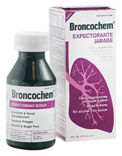 Broncochem II Expectorant Syrup, 4 oz