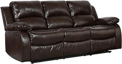Prime Amazon Com Homelegance Resonance 83 Bonded Leather Double Ibusinesslaw Wood Chair Design Ideas Ibusinesslaworg