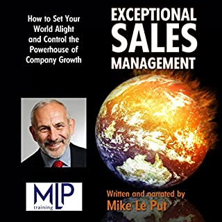 Exceptional Sales Management audiobook cover art