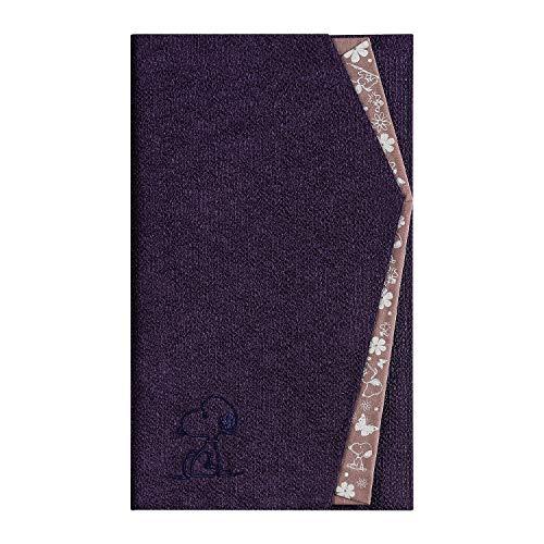 スヌーピー 袱紗 ふくさ 慶弔両用 金封 カードケース型 (751 ムラサキ(花紫)) [並行輸入品]