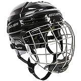 Bauer Re-Akt 100 Hockey Helmet Combo, Small, Black