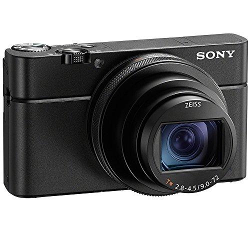 Sony DSC-RX100M6 RX100 VI Cyber-Shot Digital Camera 20.1 MP with 24-200mm Zoom Lens + Lexar 64GB SDHC/SDXC UHS-I Card + Dual Battery Kit + Accessory Bundle