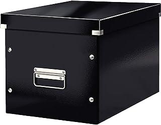 Leitz Cube de Rangement, Grande Taille, Noir, Click & Store, 61080095