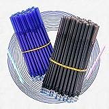 0.35mm Magic Erasable Gel Pen Set En Negro Azul Tinta De Los Estudiantes Oficina De Papelería De La Escuela