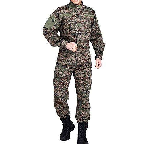 Vividda - Mono de camuflaje militar, traje táctico, caza, paintball, airsoft, juego de guerra, Medium, do