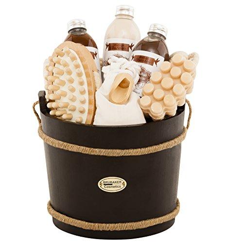 BRUBAKER Set Spa de baño 'Chocolate'...