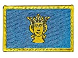Flaggen Aufnäher Schweden Stockholm Fahne Patch + gratis