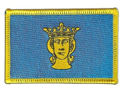Flaggen Aufnäher Schweden Stockholm Fahne Patch + gratis Aufkleber, Flaggenfritze®