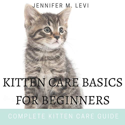 Kitten Care Basics for Beginners audiobook cover art