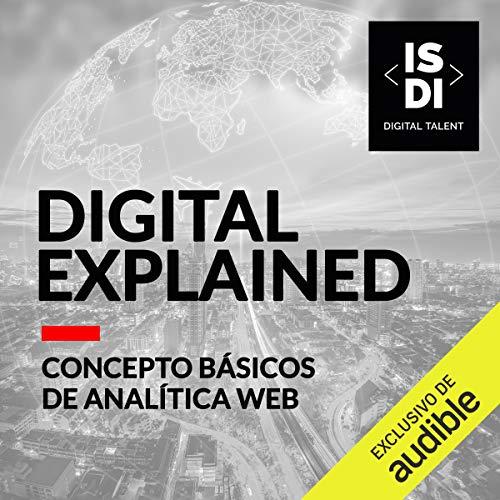 Diseño de la portada del título Conceptos básicos de analítica web (Narración en Castellano)