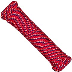 1 PACK 1 ROPE RANDOM COLOR! Great Value! Long Lasting Cord, Heavy Duty, High Quality Utility Ropes, Suitable for Indoor and Outdoor use Strong Construction, High Stress Tolerance, Unaffected by Abrasion, Fade Resistant, Rot Proof, Resists Oil, Floats...