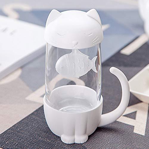 BBTY Creative 300ml Tea Strainer Cat Dog Dog Infuser Taza Taza Taza Tetera Tetera para Bolsas de té para té y café Filtro Tabho Tabho Herramientas de Cocina (Color : 04)