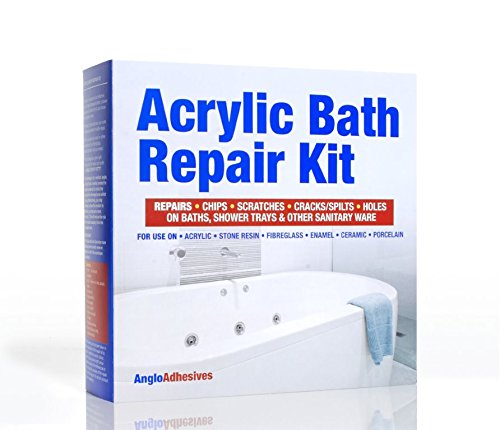Premium Acrylic Bath Repair Kit - Repairs Chips & Scratches - Colour Matched. Next Day Delivery.