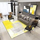 amarillo Decoracion Hogar Moderno Salpicaduras de tinta abstracta...