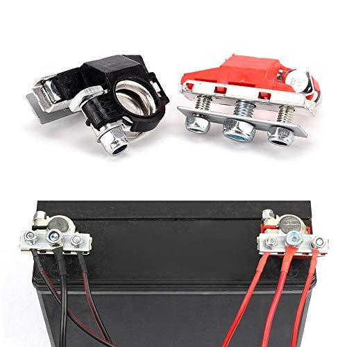 EKdirect Leisure Battery Terminals, 12V 3 Way Positive and Negative Car Van...