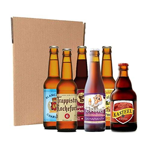 Pack degustación de cervezas belgas (12 botellines / latas de 33 cl)