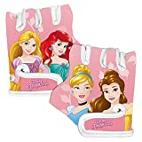 Disney Princess Guantes de Ciclismo, Niñas, Rosa, XS (4-8 Anni)