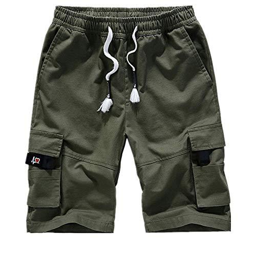 N\P Pantalones Cortos De Verano De Los Hombres Casual Transpirable Pantalones Cortos De Playa De Los Hombres De Camuflaje Impresión - - 2X
