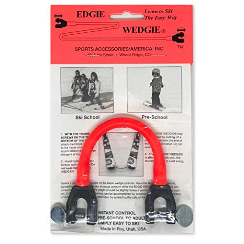 Edgie Wedgie - The Original Ski Tip Connector (Red)