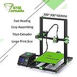 TEVO Tornado 3D Printer Fully Assembled Aluminium Extrusion 3D Printer Part Impresora 3D High Precision with Titan Extruder