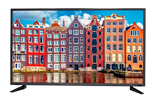 Sceptre 50 inches Slim ATSC QAM MEMC 120 1080p LED HDTV, Metal Black (2020)