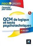 QCM de logique et Tests psychotechniques Concours fonction publique 3e édition