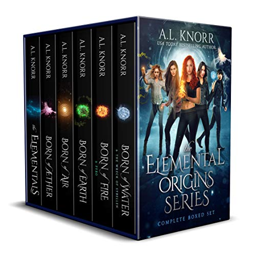 Elemental Origins: The Complete Series Bundle: (Water, Fire, Earth, Air, Aether, Ensemble Novel) (The Elemental Origins Series) (English Edition)