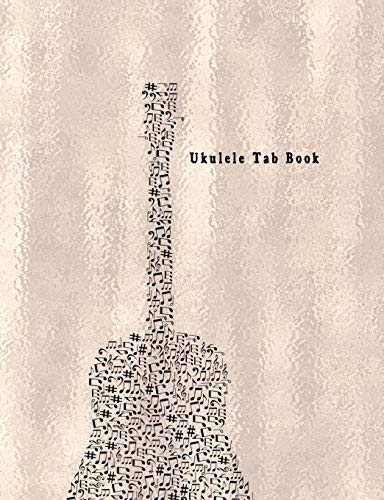 Ukulele Tab Book: Composition and Songwriting Ukulele Music Song with Chord Boxes and Lyric Lines Tab Blank Notebook Manuscript Paper Journal Workbook Sheet for Beginners or Musician