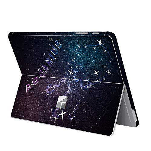 MasiBloom® Schutzaufkleber mit 12 Sternbildern, kratzfest, Vinyl, für 25,4 cm (10 Zoll) Microsoft Surface Go Tablet