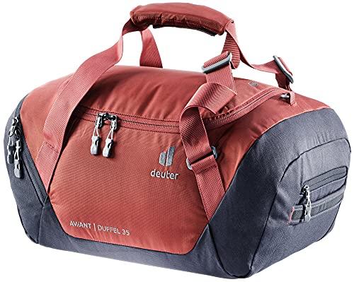 Deuter AViANT Duffel 35, Borsa Sportiva Unisex-Adult, Redwood-Ink, 35 L