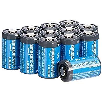 AmazonBasics - Pilas de litio CR2 de 3 V, Pack de 12: Amazon.es ...