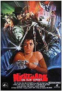 Movie Poster A Nightmare ON ELM Street (1984) 24x36