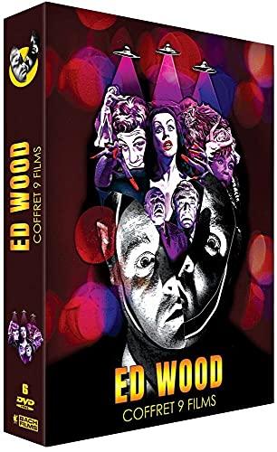Le coffret DVD des films d'Ed Wood pour fan de Tim Burton