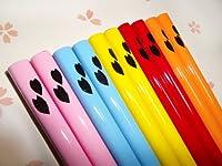 箸屋助八 ワンポイント花柄のお箸 25色50膳セット