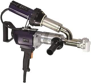 WELDY 3400W Handheld Plastic Extrusion Welding Machine kit Hot Air Plastic Welder Gun Vinyl Weld Extruder Welder Machine EX2 EX3 (EX2)