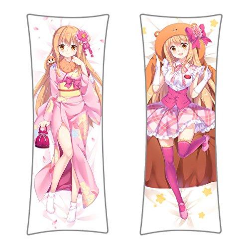 CoolChange Himouto! Umaru-chan Seitenkissen Bezug, Dakimakura Kissenbezug 150x50cm Bezug, Motiv: Umaru Kimono