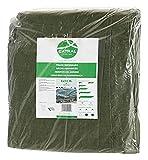 Toldo reforzado gramaje 120 grs, 5 x 8 m, color verde - Catral 560105