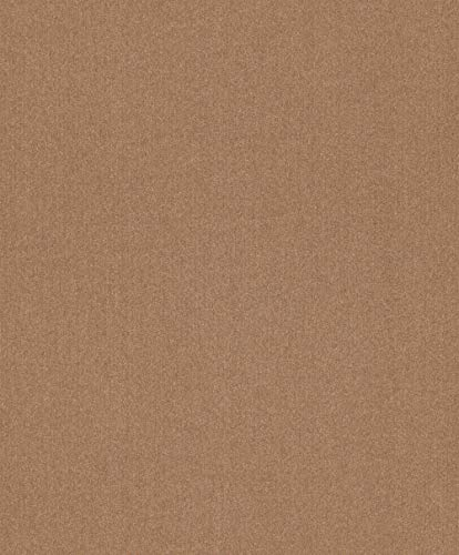 Textiltapete Rasch Textil Mirage Uni Struktur kupfer Glitzer 079196