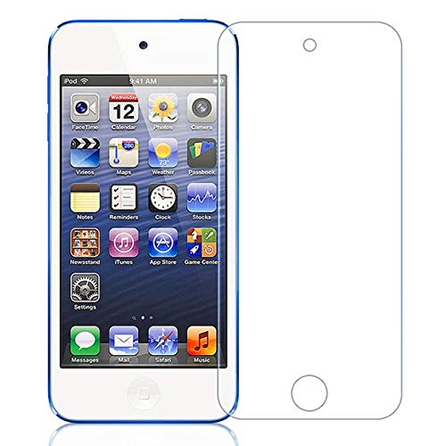 MICRO 9H Super Glossy Impossible Edge to Edge Full Screen Coverage Screen protector compatible for Apple Ipod Touch (not a tempered glass)