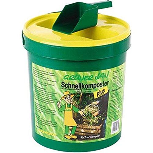 Grüner Jan Schnellkomposter 6kg mit Schaufel Bodenhilfsstoff Gartenkomposter Komposter