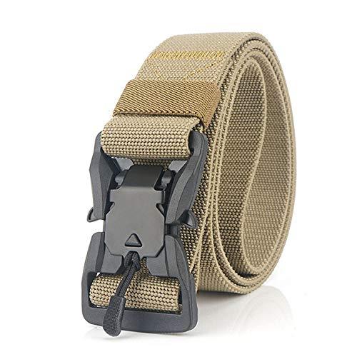 JIER Liquidación Cinturón de Nylon, cinturón Unisex de 2 Piezas, con Hebilla metálica...