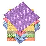 lumanuby 30 hojas/Set origami papel impresión en color Origami Papel Hecho A Mano Cut niños DIY color papel 15 x 15 cm (10 colores), papel, colorful#3, 15 cm