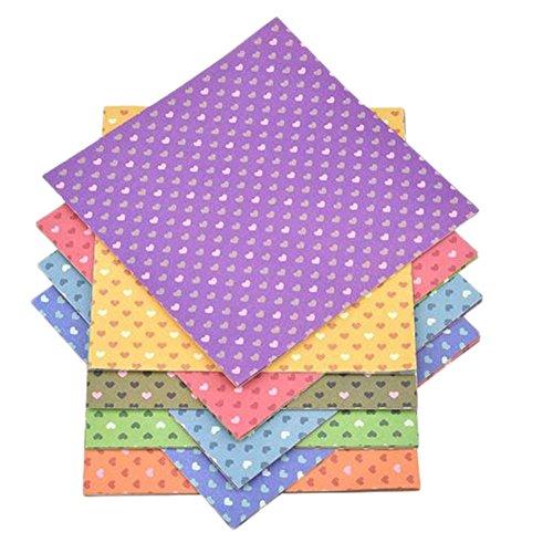 Demarkt–Origami Papel faltpapier Pegatina Papel Papel para manualidades Juego Manualidades DIY hecho a mano corazón patrón